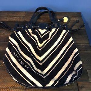 Juicy Couture velour bag